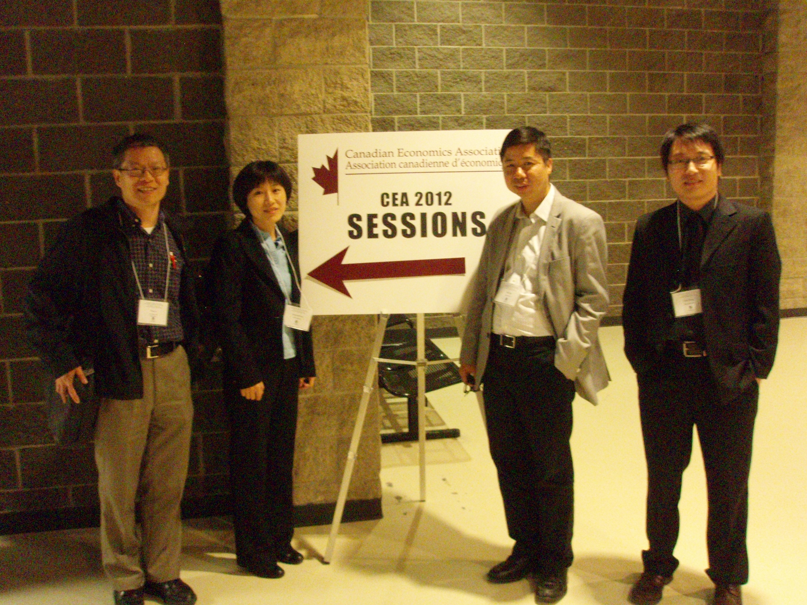 CES held first session at the Canadian Economics Association, Calgary