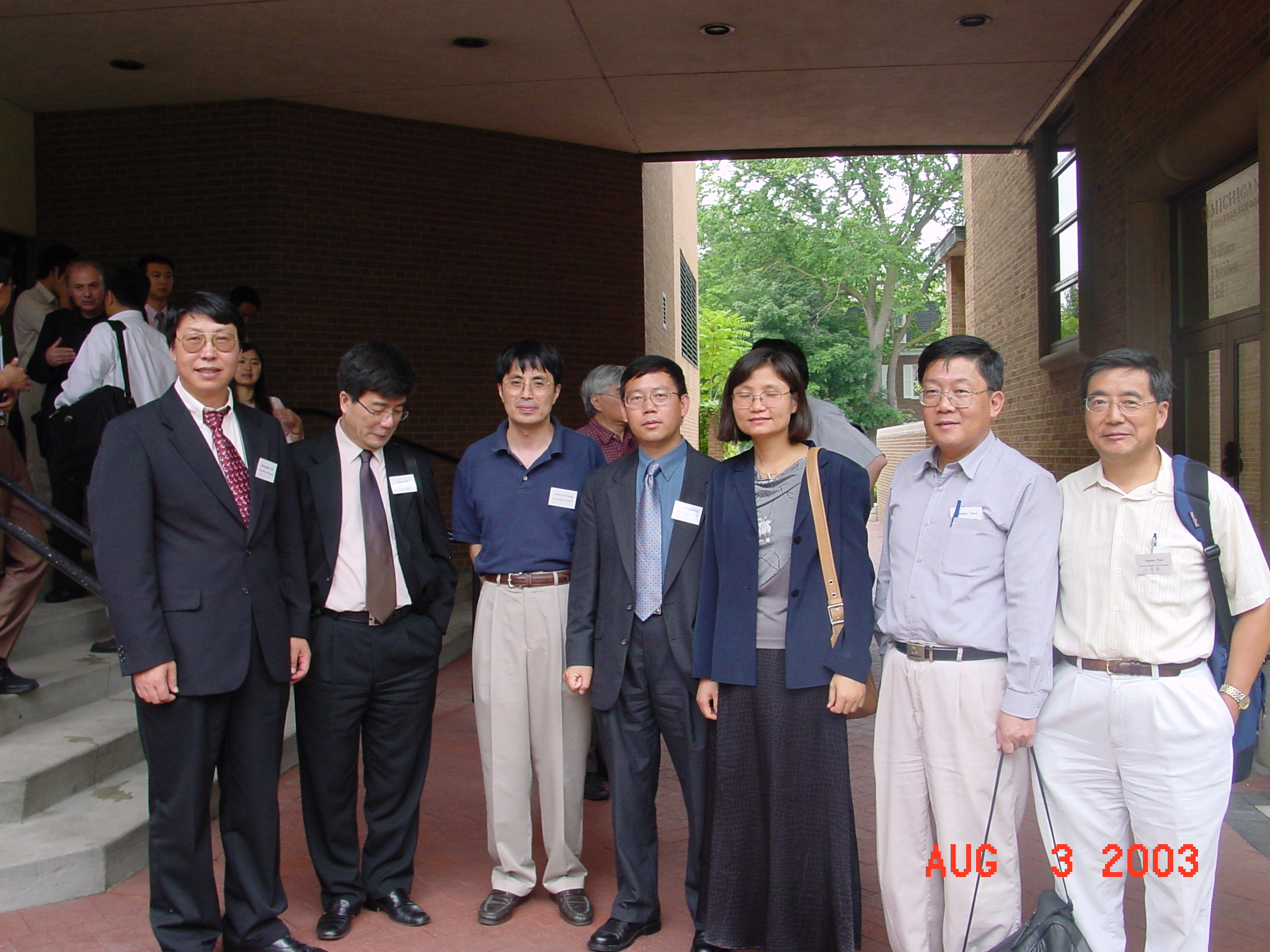 Professor Haizheng Li, CES Immediate past President, was appreciated for his contribution