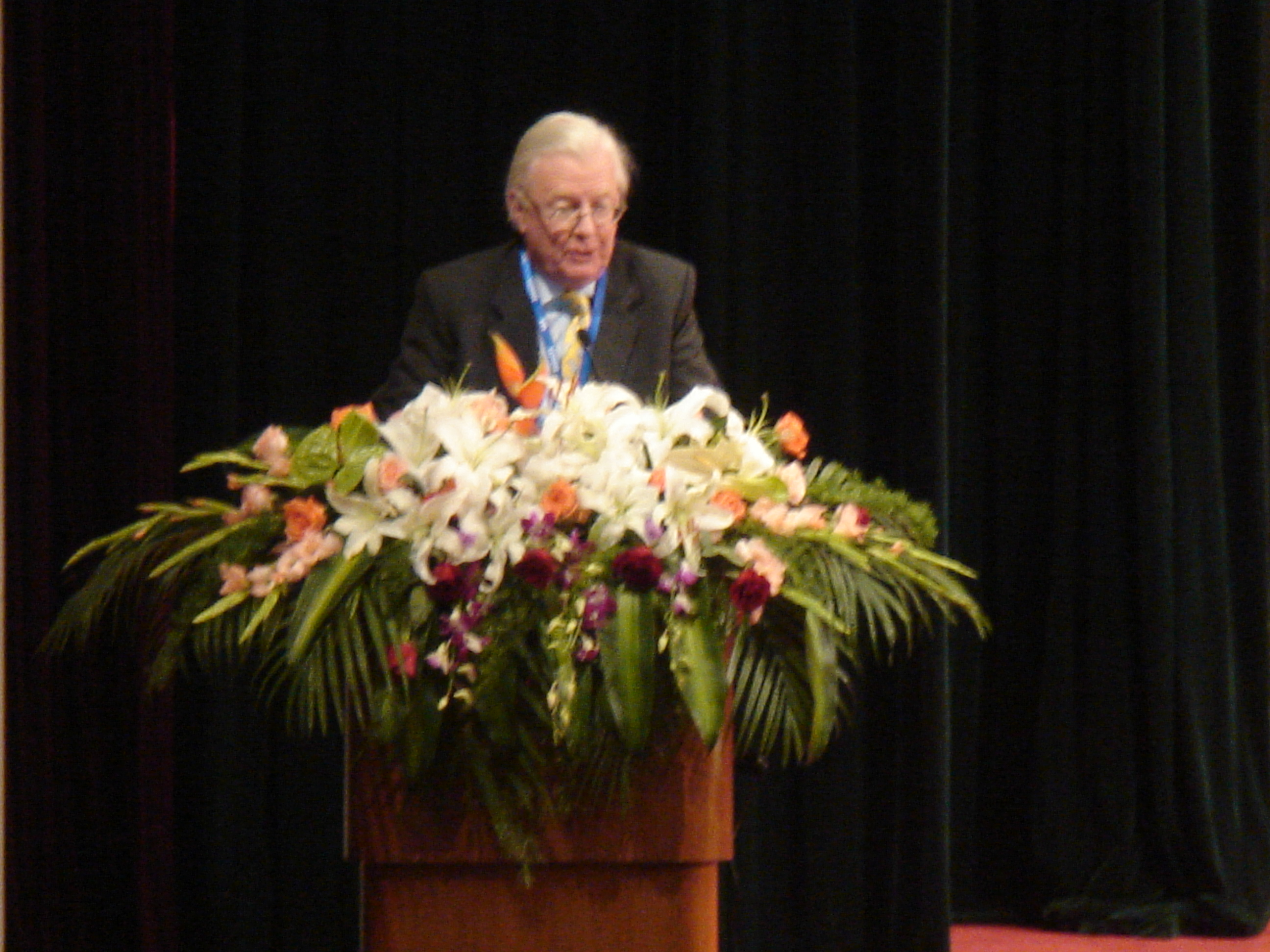 Keynote Speaker, James A. Mirrlees